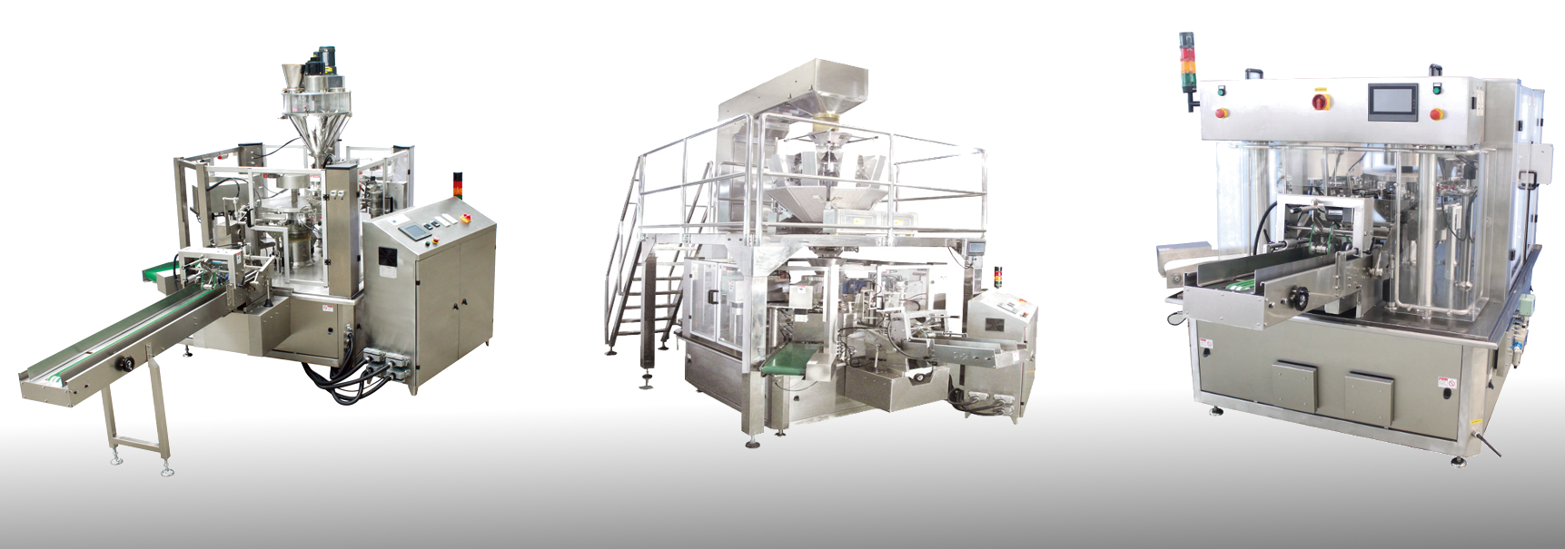 Rotating Doypack Filling and Capping Machine for Stand-up Pouches